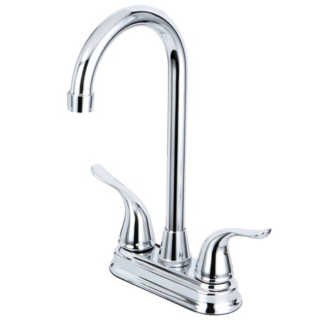 Yosemite Double Handle Kitchen Faucet by Kingston Brass