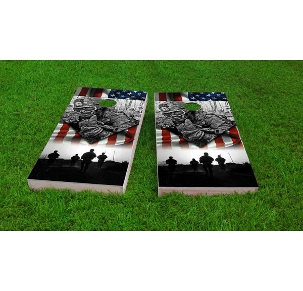 US Army Cornhole Game Set by Custom Cornhole Boards