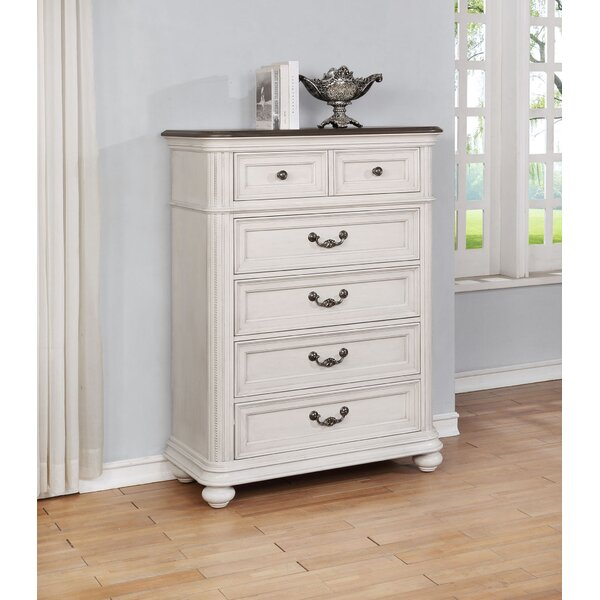 Alisa 5 Drawer Chest by One Allium Way