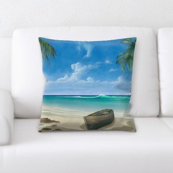 Paradise Throw Pillow Wayfair