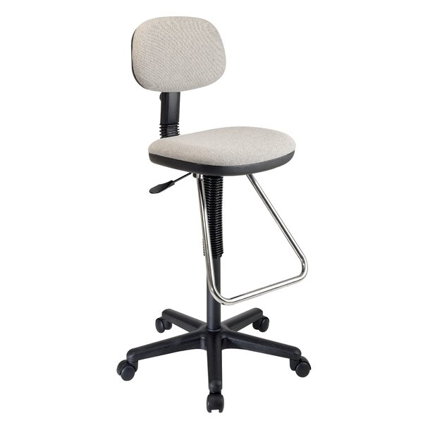 Boothe High-Back Drafting Chair by Rebrilliant