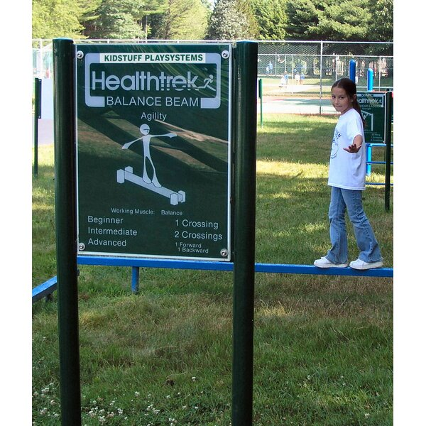 Balance Beam Walk and Sign by Kidstuff Playsystems, Inc.