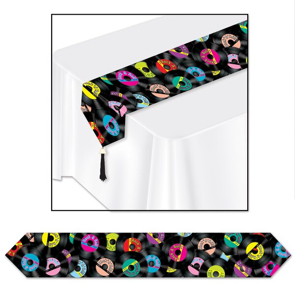 Rock and Roll Table Runner (Set of 3) by The Holiday Aisle