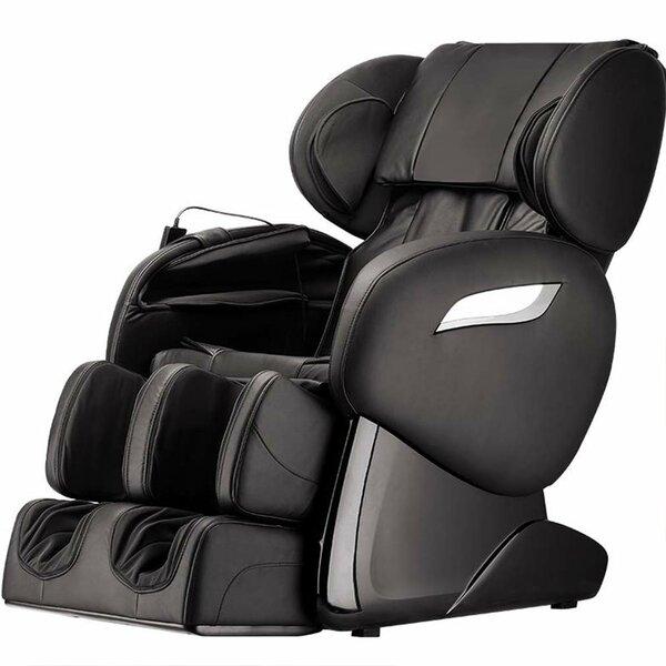 Power Reclining Adjustable Width Heated Full Body Massage Chair By Latitude Run