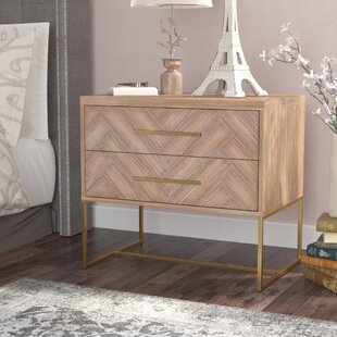 Comparison Parfondeval 2 Drawer Nightstand By Lark Manor