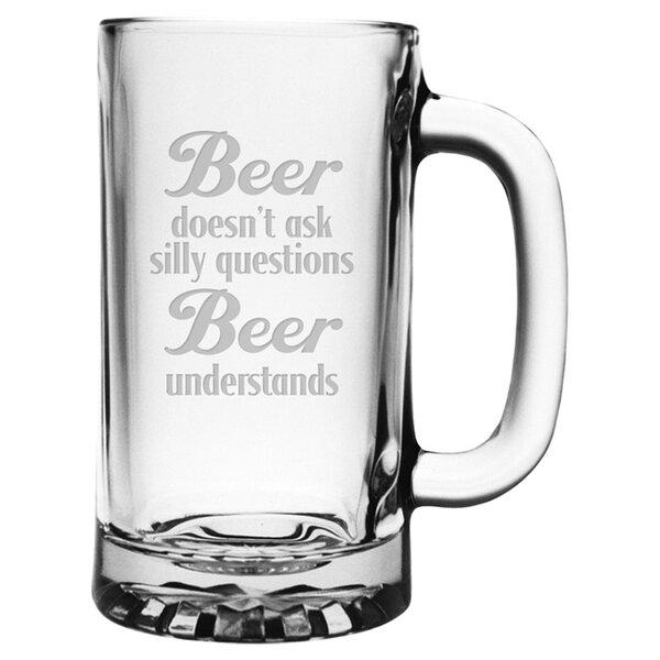 Beer Understands Pub 16 oz. Beer Mug (Set of 4) by Susquehanna Glass