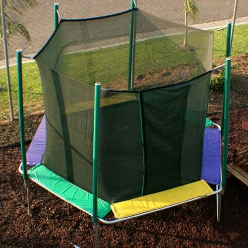 12 ft. Hexagon Trampoline with Enclosure by Kidwise