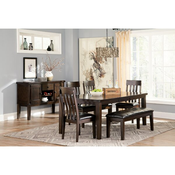Bartons Bluff 6 Piece Dining Set by Red Barrel Studio