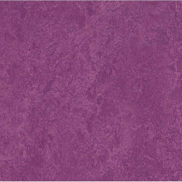 Marmoleum Click Cinch Loc 11.81 x 35.43 x 9.9mm Cork Laminate Flooring in Purple by Forbo