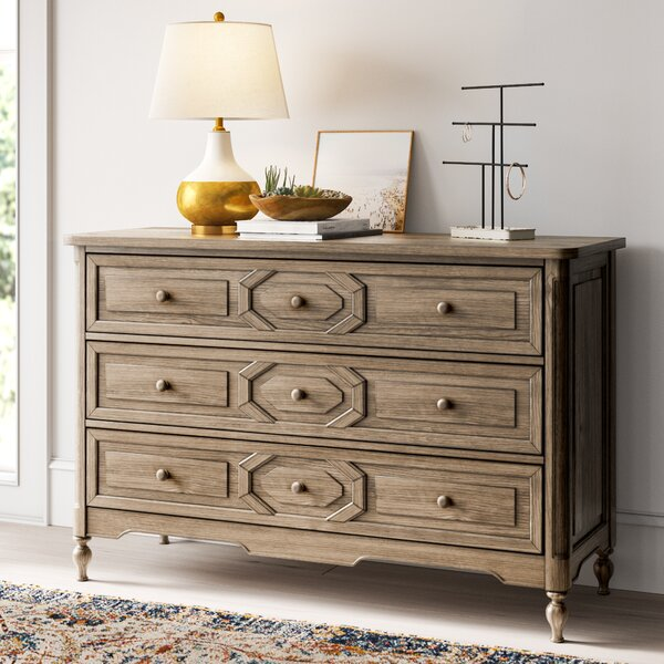 Gus 3 Drawer Sideboard by Mistana