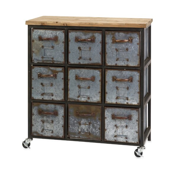 Shirleen 9 Drawer Accent Chest By 17 Stories