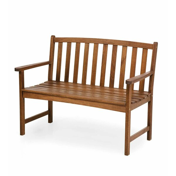 Lancaster Eucalyptus Wood Garden Bench by Plow & Hearth