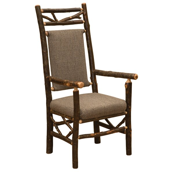 Hickory Twig Upholstered Dining Chair by Fireside Lodge
