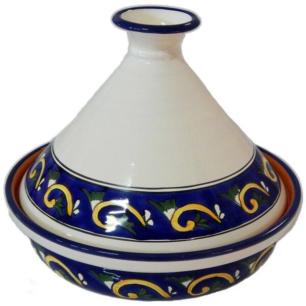 Riya Cookable Ceramic Round Tagine by Le Souk Cera