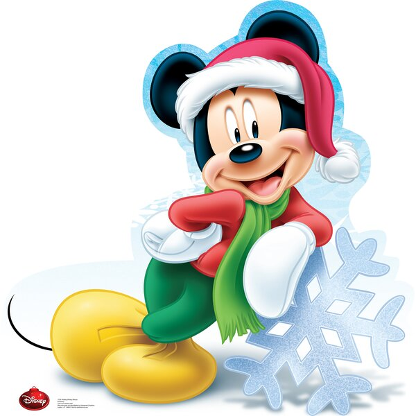 Mickey Mouse Holiday - Disney Cardboard Standup by Advanced Graphics