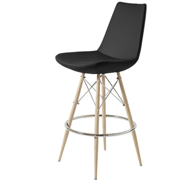 Shinkle Dowel 29 Bar Stool by Brayden Studio