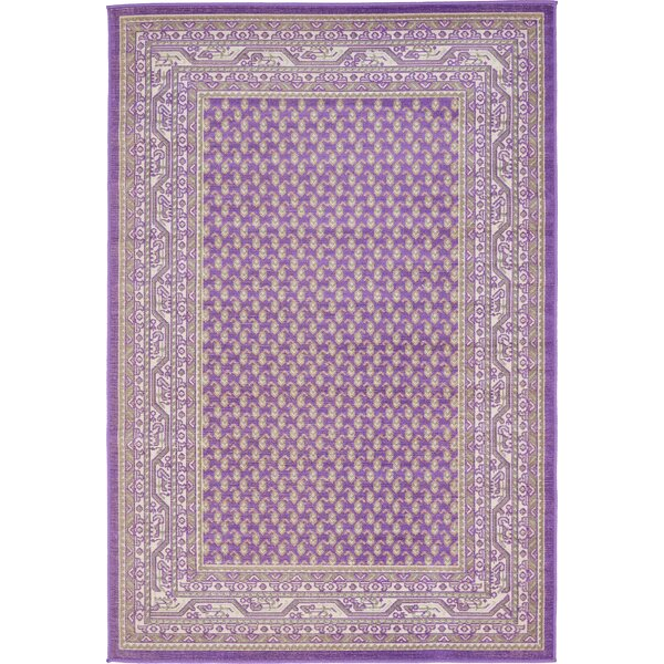 Gillam Violet Area Rug by Three Posts