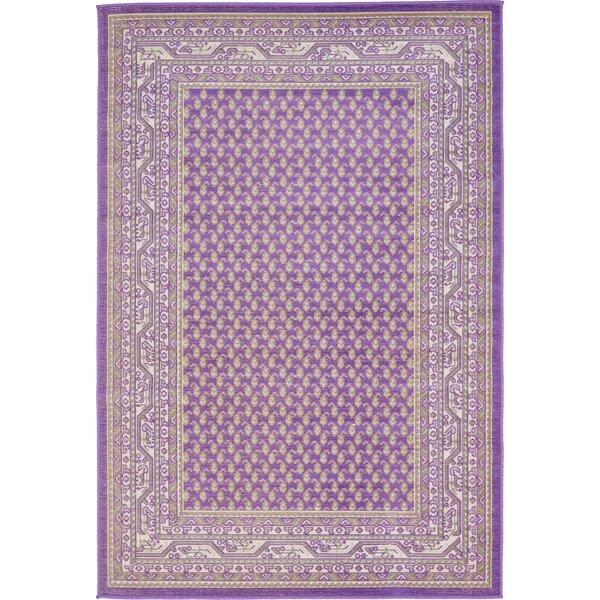 Gillam Violet Area Rug by Three Posts