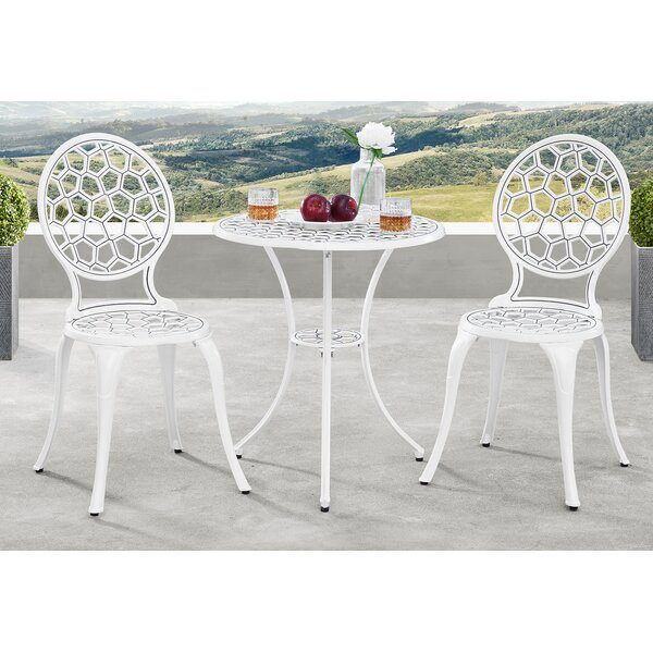 Tesfai 3 Piece Bistro Set by Brayden Studio