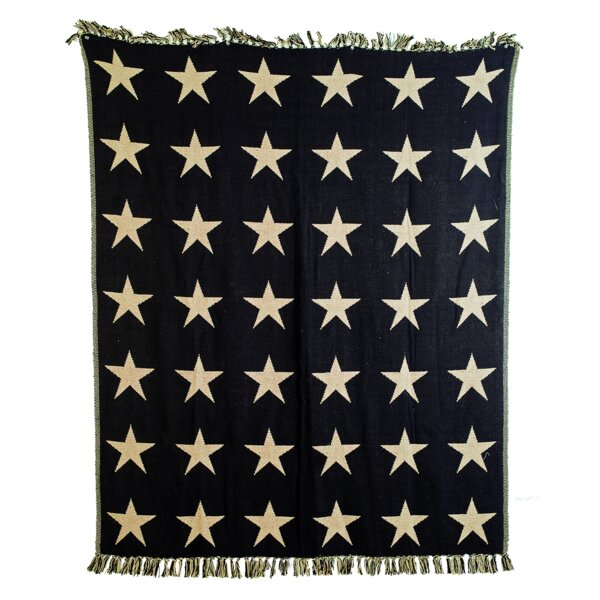 Noel Woven Cotton Throw by Charlton Home