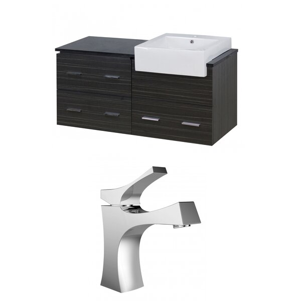 Mulberry Wall Mount 48 Single Bathroom Vanity Set by Royal Purple Bath Kitchen