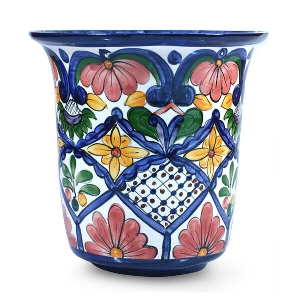 Downing Spring Ceramic Pot Planter by Charlton Home