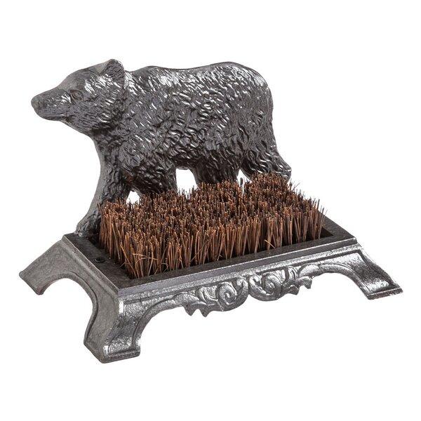 Bear Bootbrush Figurine by Loon Peak