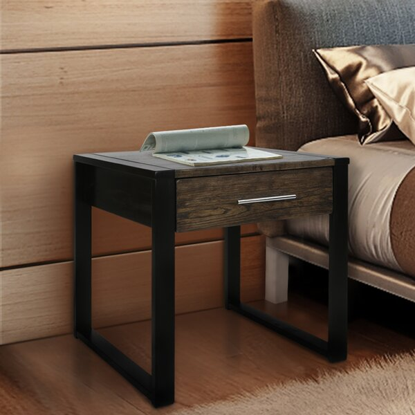 Enoch End Table by Ebern Designs