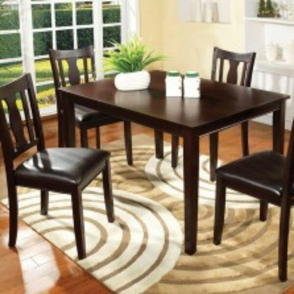 Timberlake 5 Piece Pub Table Set (Set Of 5) By Winston Porter Comparison
