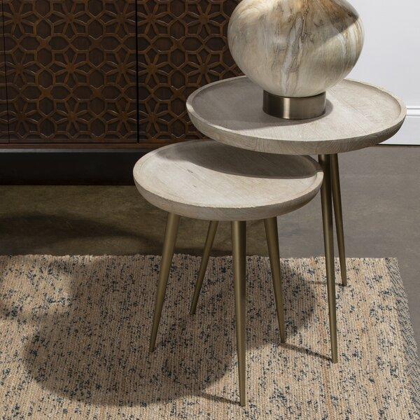 Garr 2 Piece Tray Top 3 Legs Nesting Tables By Corrigan Studio®