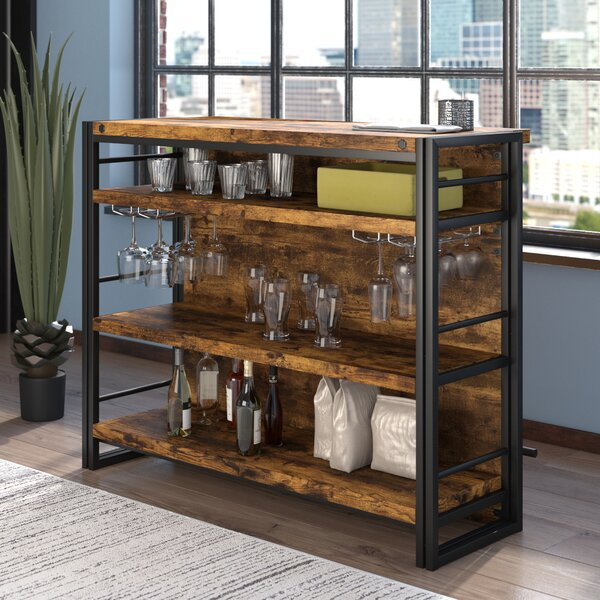 Felicita Bar With Wine Storage By Williston Forge