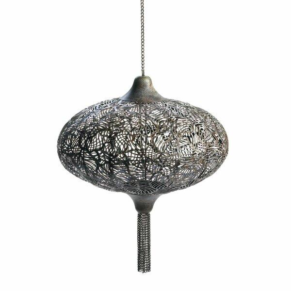 Exotic Lounge Metal Candle Lantern by Zingz & Thingz
