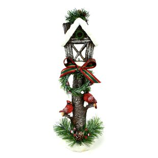 holiday light post decoration figurine - Light Post Christmas Decorations