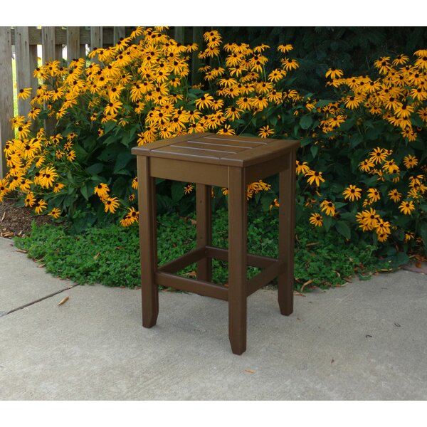 Days End Series Solid Wood Side Table by Hershy Way