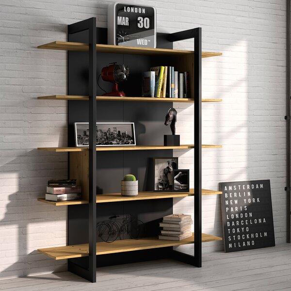 Santana Standard Bookcase by Williston Forge