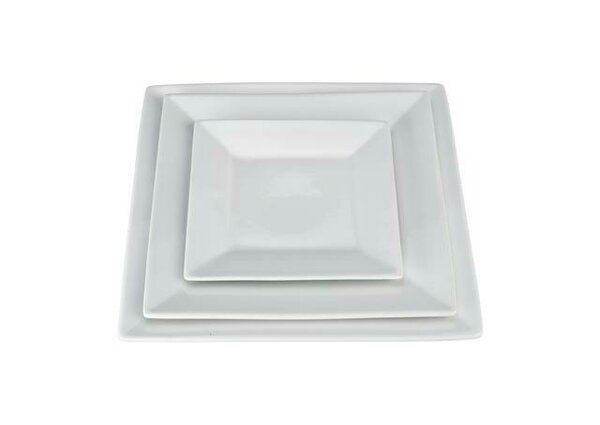 Square Plate (Set of 2) by BIA Cordon Bleu