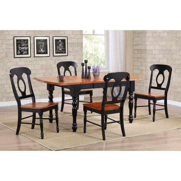 Obadiah 5 Piece Dining Set by Loon Peak