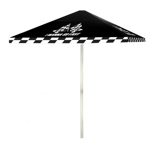 I Wanna Go Fast 6' Square Market Umbrella by Best of Times
