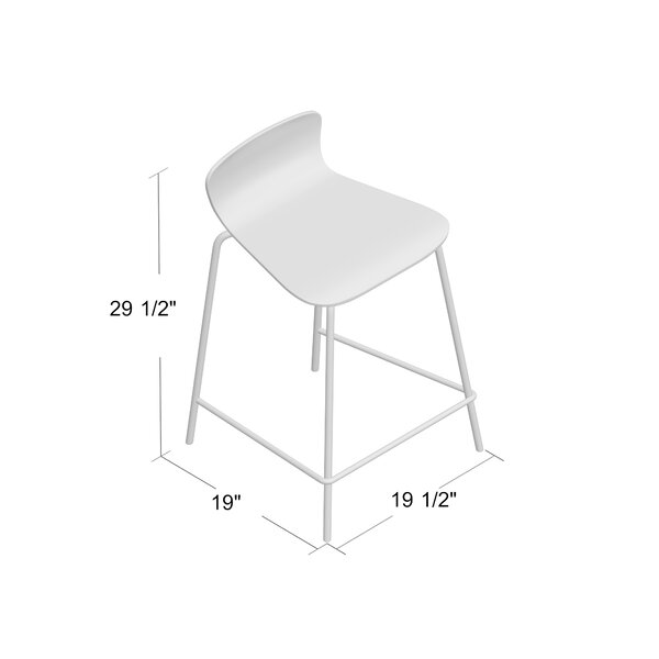 Eurydice Bar & Counter Stool (Set of 2) by Wade Logan