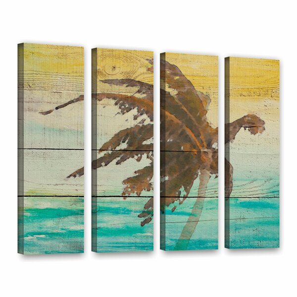 Into The Light II 4 Piece Painting Print on Wrapped Canvas Set by Bay Isle Home