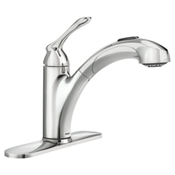 Banbury Single Handle Kitchen Faucet by Moen