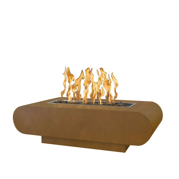La Jolla Steel Fire Pit by The Outdoor Plus