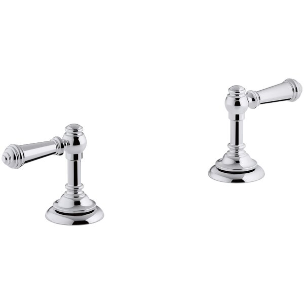 Artifacts Bathroom Sink Lever Handles by Kohler