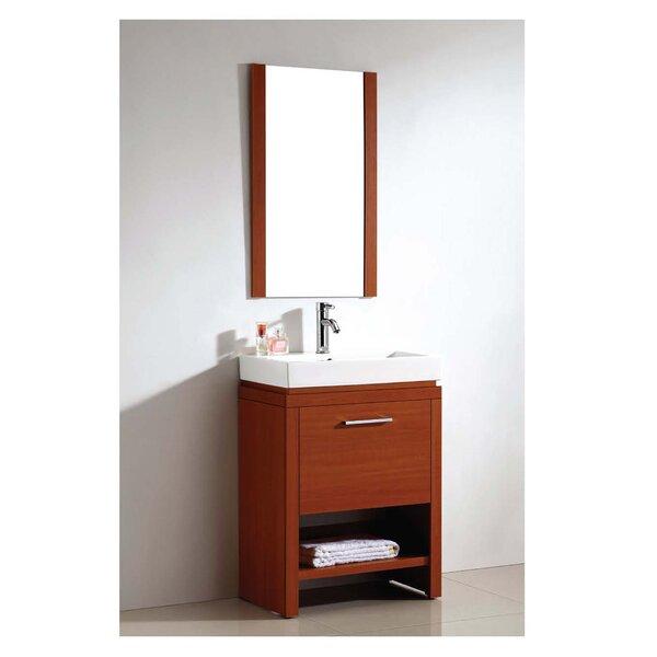 Melamine Sided Bathroom/Vanity Mirror by Dawn USA