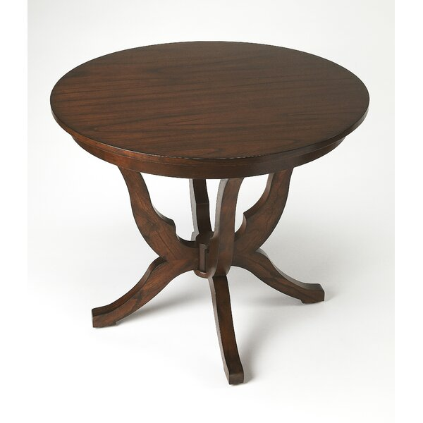 Kagan Solid Wood Dining Table by Alcott Hill