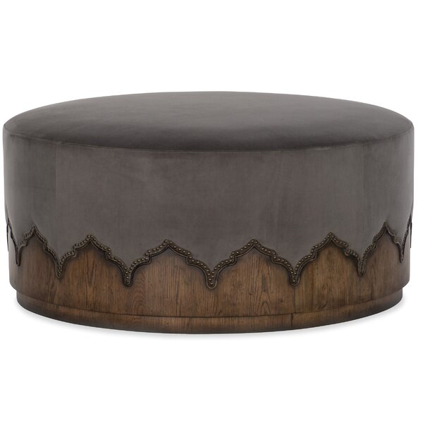 Melange Meyers Cocktail Ottoman by Hooker Furniture