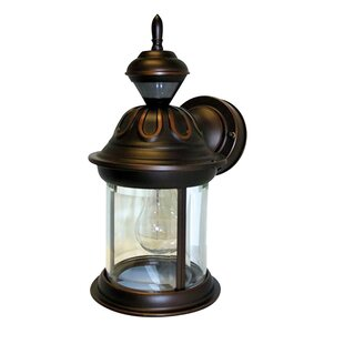 Compare & Buy Godeus Metal Outdoor Wall Lantern with Motion Sensor By World Menagerie