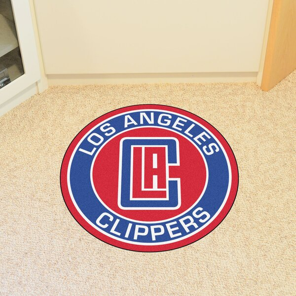 NBA Los Angeles Clippers Roundel Mat by FANMATS