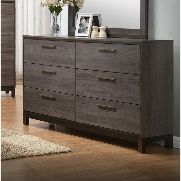 Lehner 6 Drawer Double Dresser by Union Rustic