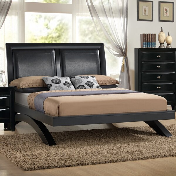 Blemerey Upholstered Platform Bed by Roundhill Furniture